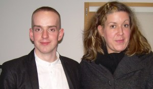 Andrew McMillan and Amy Mason