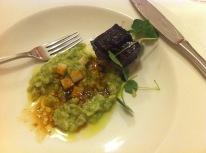 Beef Cheek: Malt – Parsley - Apple
