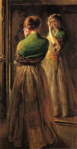 Joseph-deCamp-Girl-with-a-Green-Shawl-1900