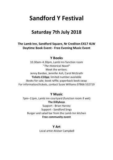 Sandford Y Festival